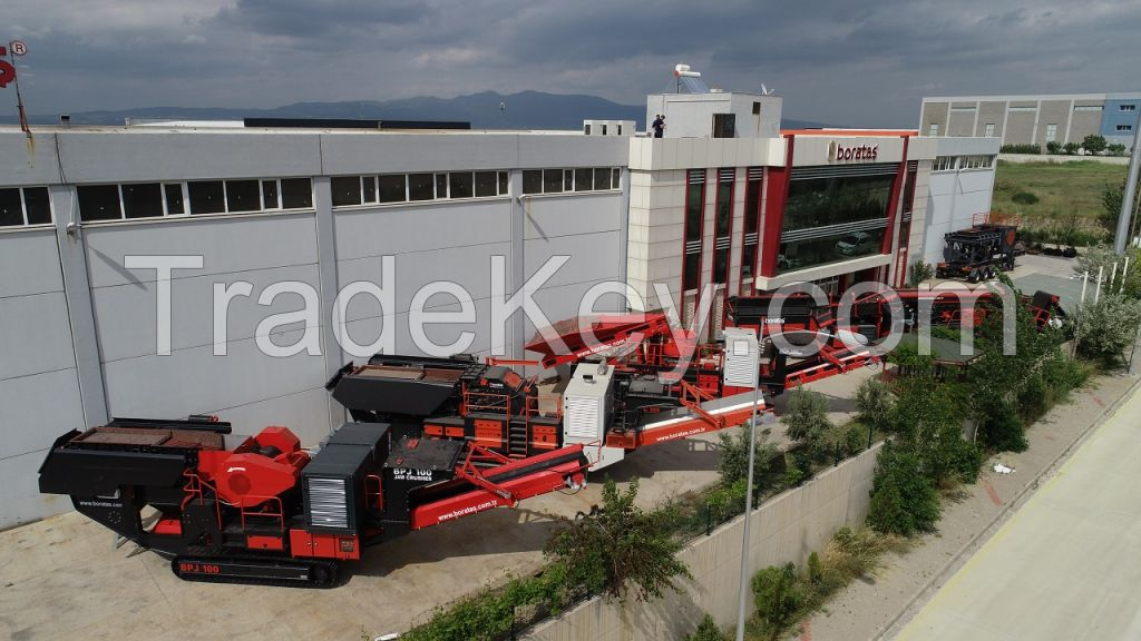 MOBILE/ FIXED JAW CRUSHER