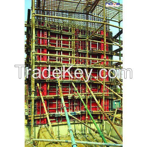 Rectangular Modular Plastic Wall Formwork