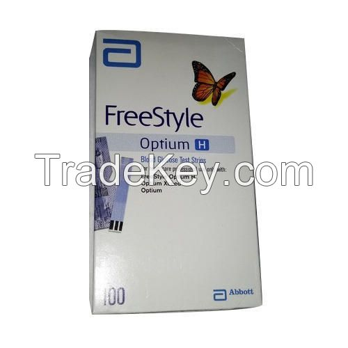 ABBOTT FREESTYLE OPTIUM H 100 TEST STRIPS