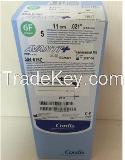 CORDIS TRANSRADIAL SHEATH INTRODUCER IN TRANSRADIAL KIT 504-616Z504-616Z