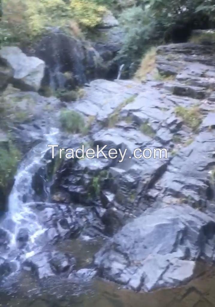 Black Granite, Fledspur, Other Minerals
