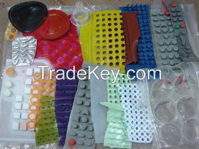 Silicone Rubber Keypads Scrap