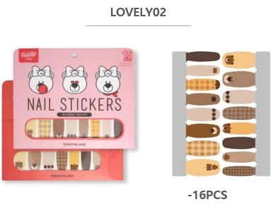 Teddy Bear Nail Sticker