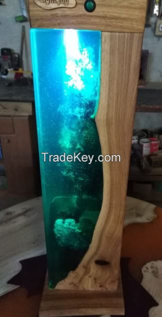 Clear Epoxy Resin For Table top, Table lamp, Phone case and Artworks.