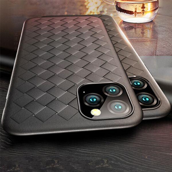 Knit Woven Pattern TPU phone case