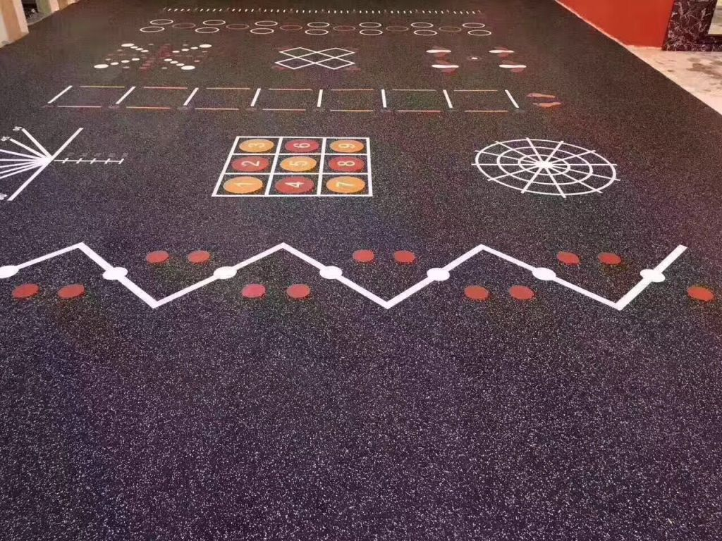 Commercial Rubber Gym Flooring 1m x 1m x 10mm