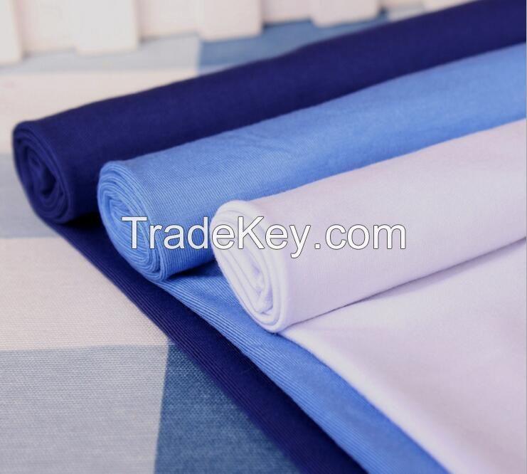 200GSM,95%BAMBOO 5%SPANDEX jersey T-shirt,garment fabric