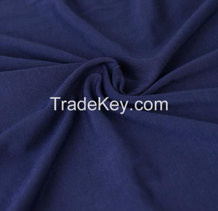 180GSM,94%bamboo 6%spandex stretch jersey T-shirt,underwear fabric