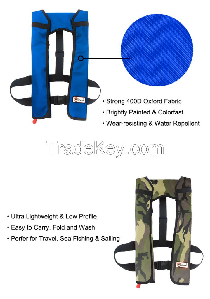 Eyson Automatic Manual Inflatable Life Jacket