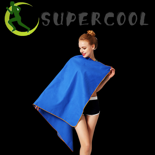 sports microfiber towel for outdoor beach pool