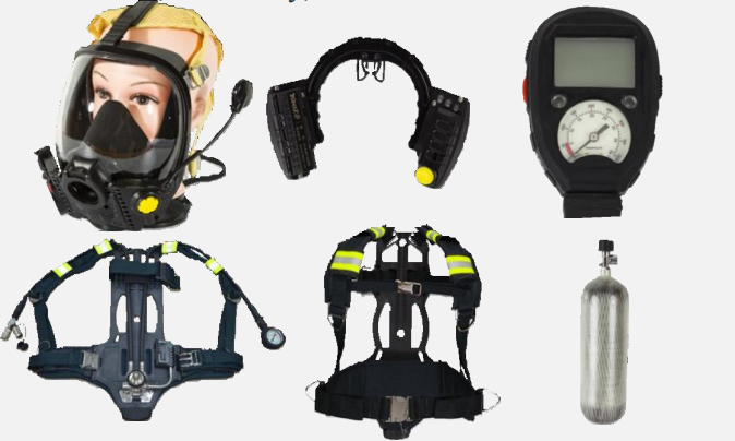Self-contained Positive Pressure Breathing Apparatus
