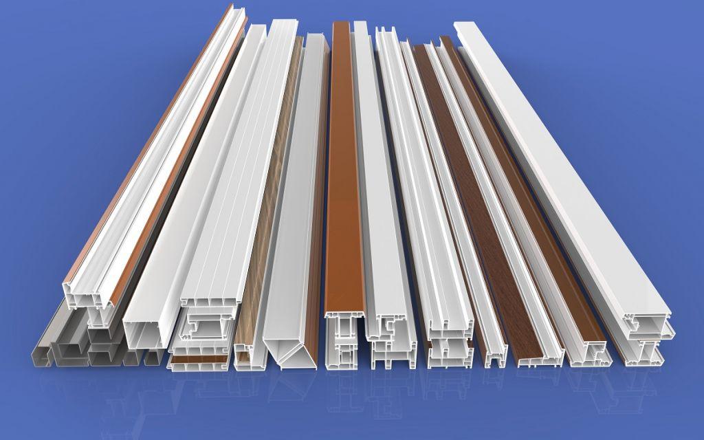 single-sided color plastic steel -80 sliding profiles