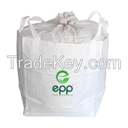 EPP Industrial Use Jumbo Sacks tubular type bulk container bag High Quality 1 Ton Big Bag