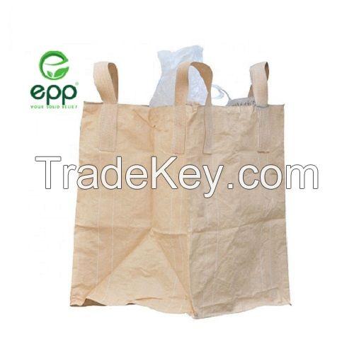 EPP  FIBC bag jumbo super sacks 1 ton 2 ton Tubular type 1 ton tote bags a metric bag