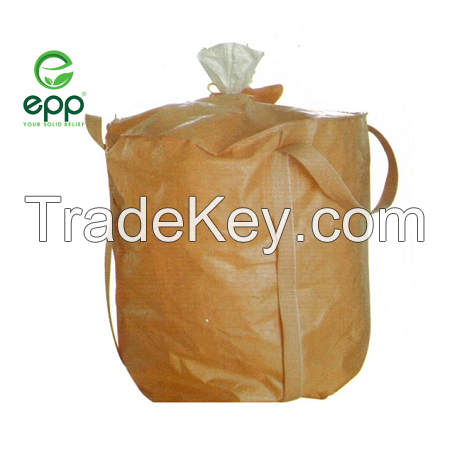 Vietnam 1450D tubular circular dustproof big bag free sample 1100lbs 2200lbs 3300lbs 4400lbs large circular container bags