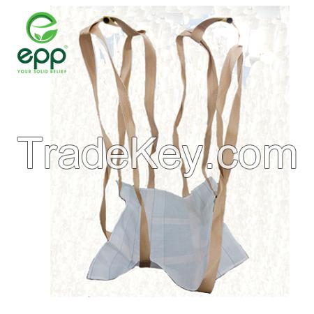 Vietnam sling jumbo circular bag coated 1 tonne bulk sand and cement bag 1100lbs 2200lbs 3300lbs 4400lbs industrial sling bags