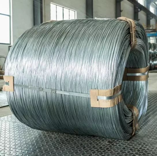 hot dip low carbon Galvanized steel wire for armouring cables