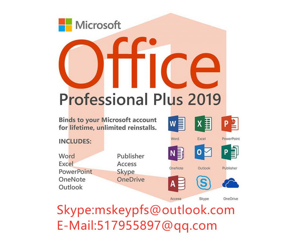 office 2010  2013 2016 2019 pro for win phone  100% guaranteed activation