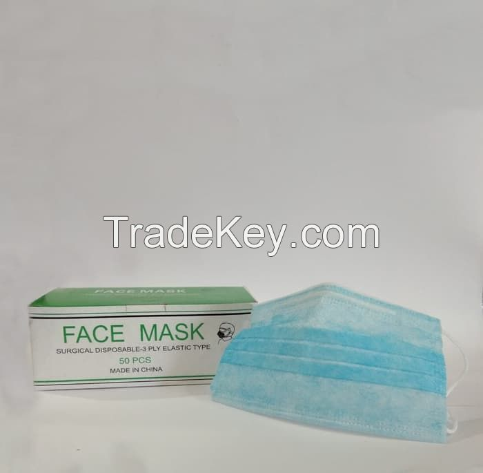 3-Ply Surgical Disposable Face Mask