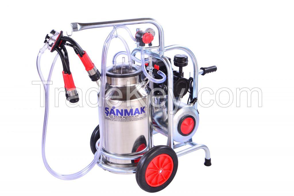 Milking Machine : Single Milking Single S/S Bucket