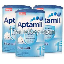 Standaard Nutrilon 1, 2, 3, 4, 5 and Aptamil baby milk formula for sale