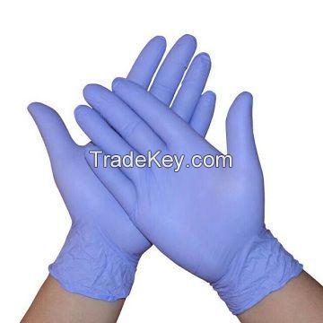 EXTRA STRONG NITRILE POWDER-FREE EXAMINATION GLOVES - BLUE - LARGE - 100 PACK