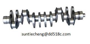 Caterpillar engine forged steel crankshaft