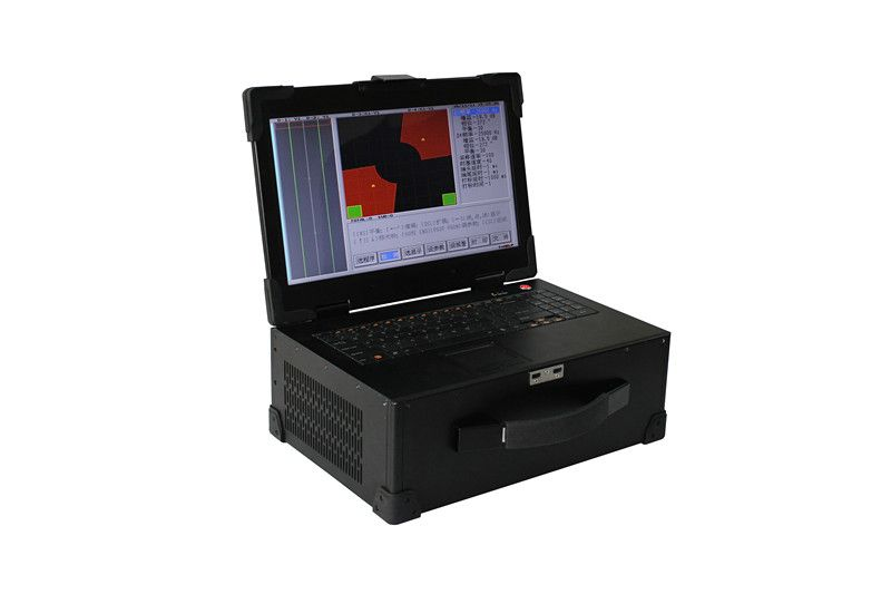 Eddy current flaw detector for pipe, bar, tube, wire and metal parts