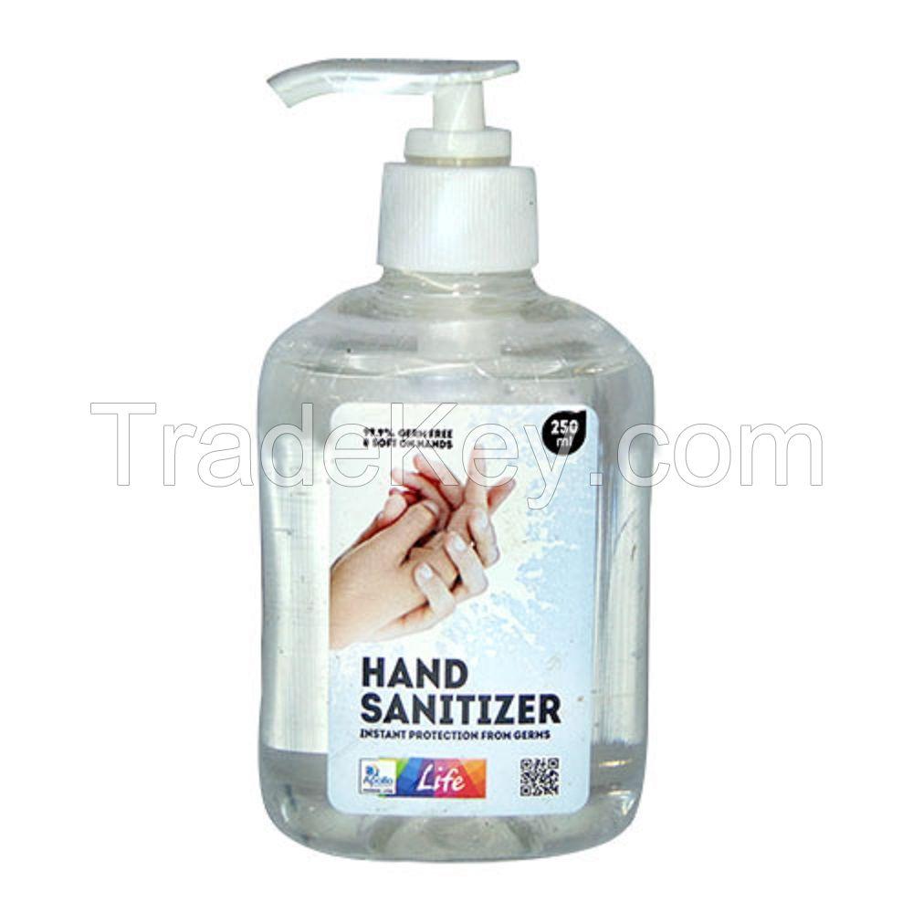 waterless 75% alcohol hand sanitizer