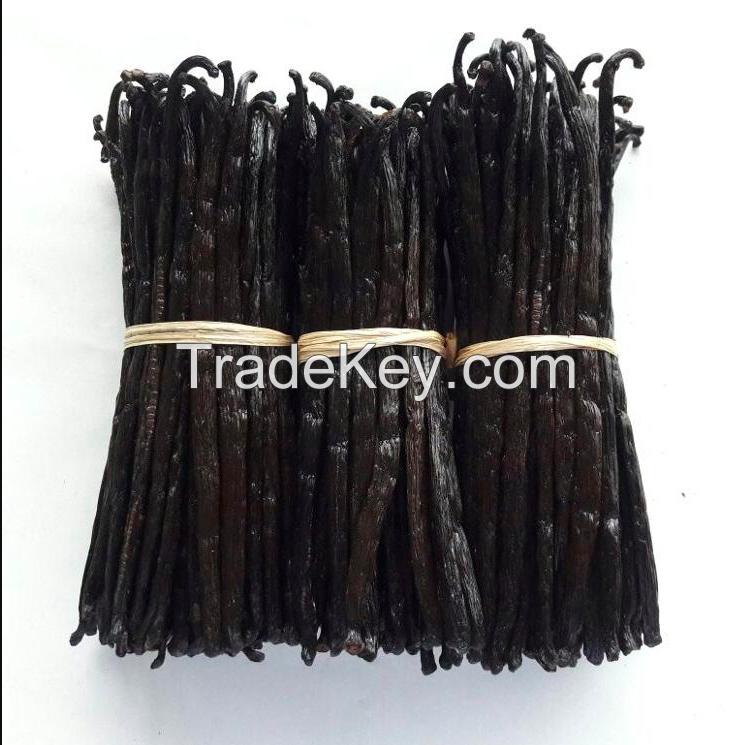 Madagascar Vanilla Beans with Low Moisture