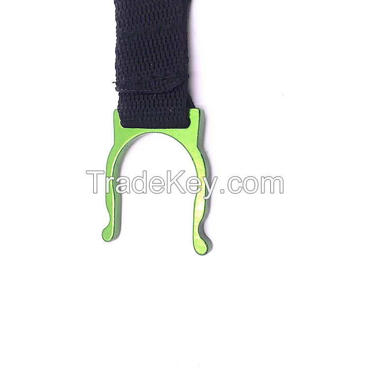 Lanyard Snap Clip Hook with bottle opener  Buckle Keychain Keyring Hiking Climbing NEW
