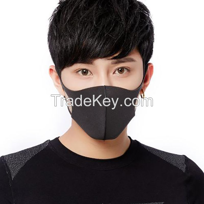 running motorcycle breathing fashion recycle N95 mouth dust mask thermal cover face sponge shield masks