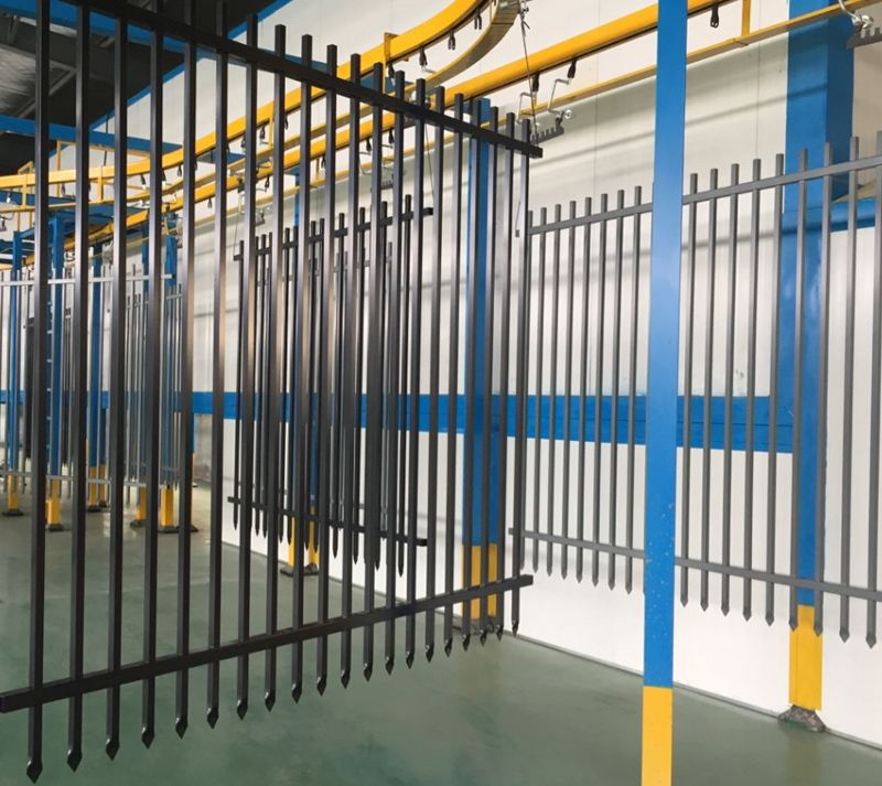 Ornamental Commercial Fence