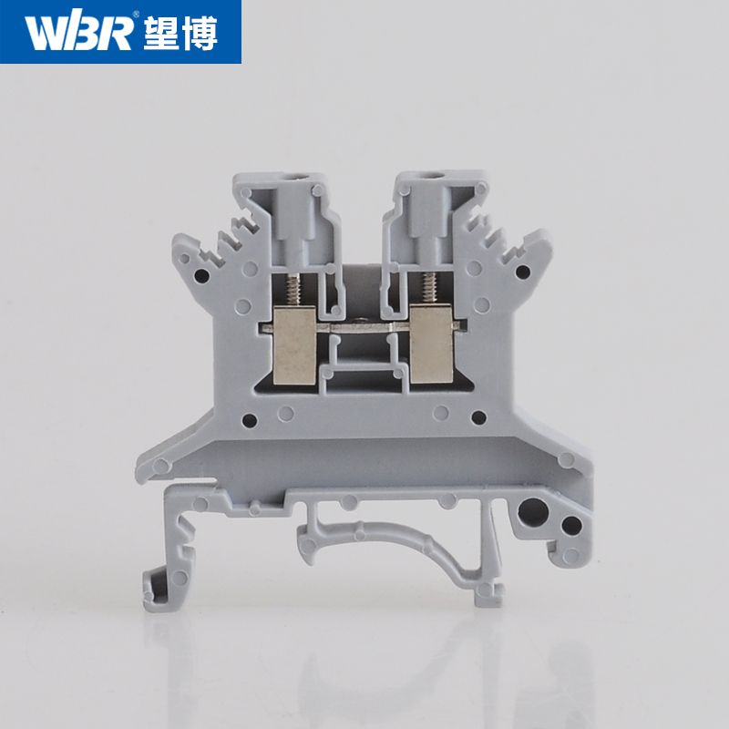 DIN rail terminal block screw terminal voltage connector UK1.5N