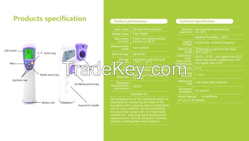 TOP01 Infrared thermometer
