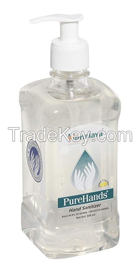 Antibacterial sanitizing liquid hand made soap bottle