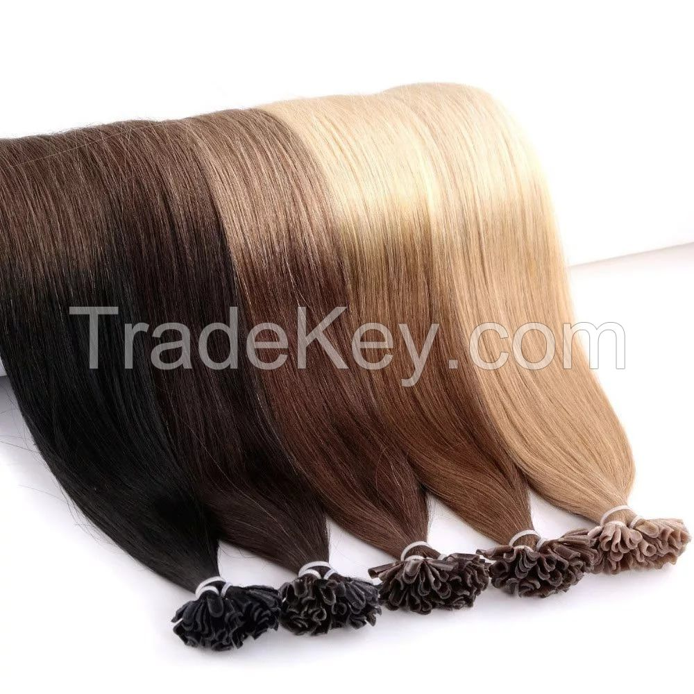 Pre-bonded hair extensions,