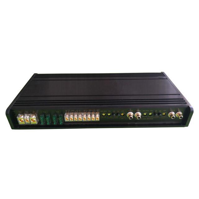 Professional High Power Car Amplifier 120W 4 Channel Competition Car Audio Amplifier Mono Block Class AB