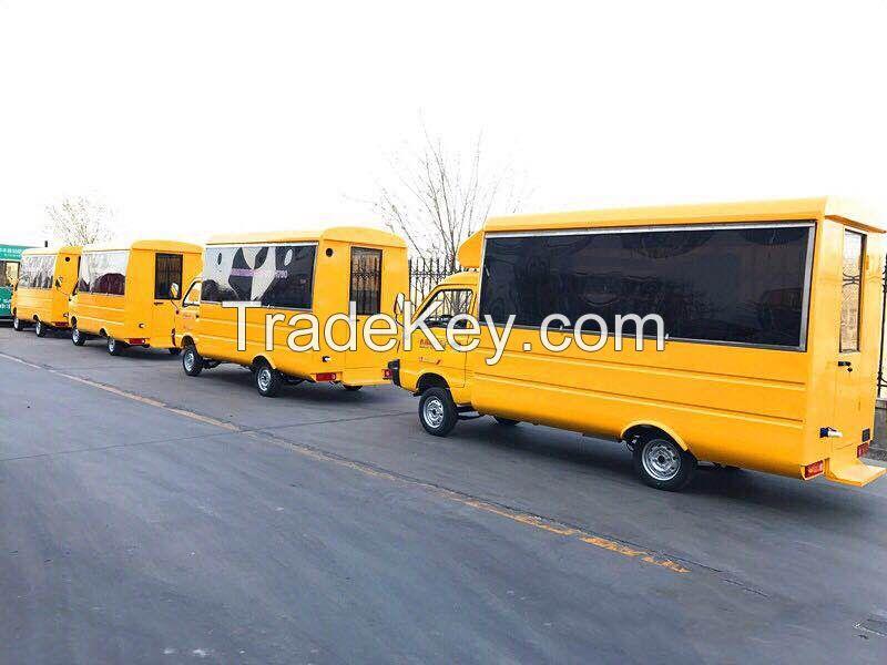 used fast food truck