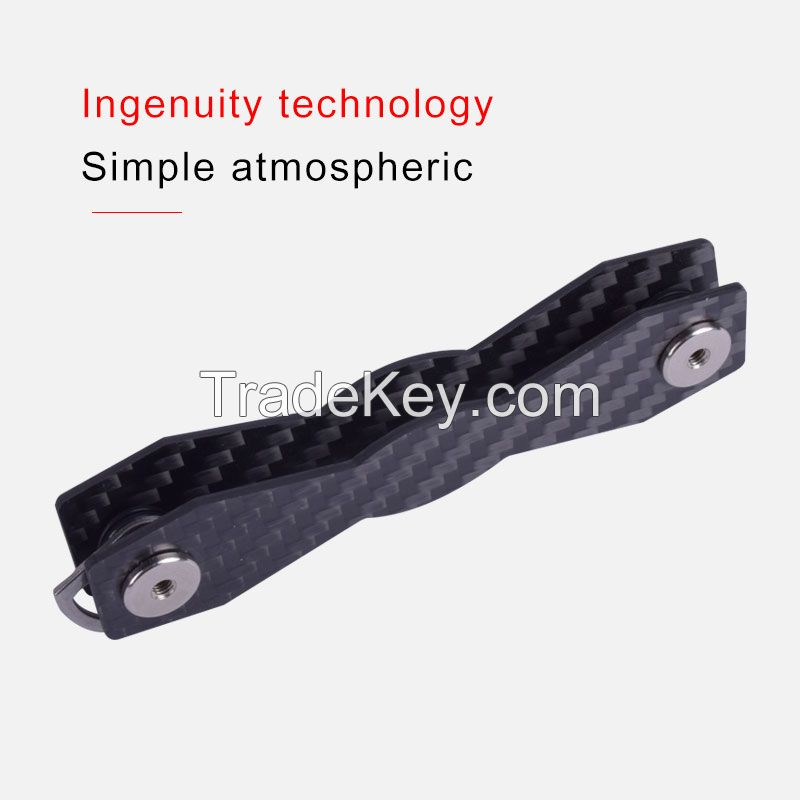 Carbon fiber key organizer
