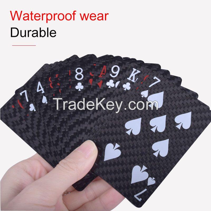 Carbon fiber poker cards