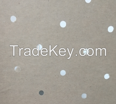 Brown punched kraft underlay paper roll wholesale for automatic cutting department
