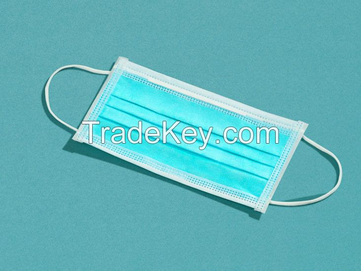 Medical disposable 3ply surgical face mask