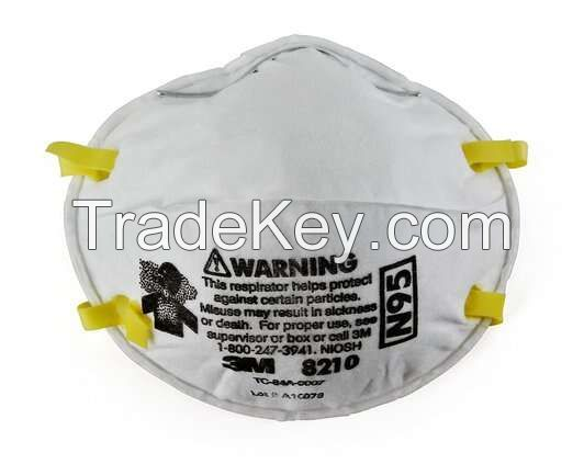 3M Particulate Respirator 8210, N95 160 EA/Case