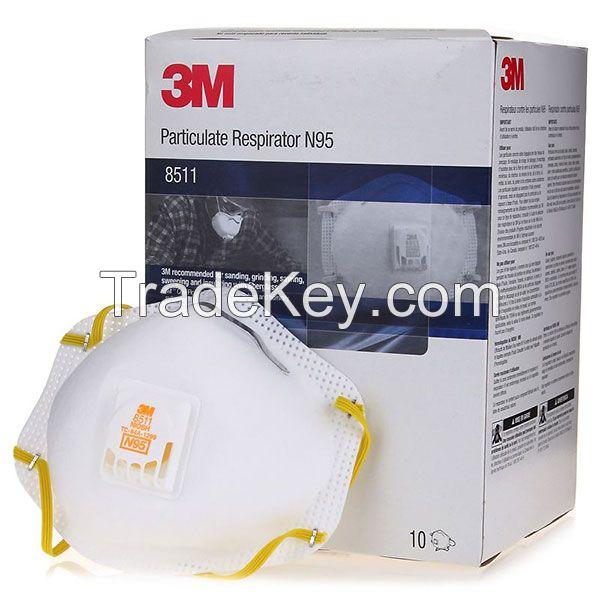 3M Particulate Respirator 8511, N95 80 EA/Case