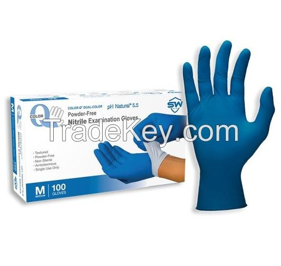 Medical Glove nitrile inspection surgical gloves at wholesale price