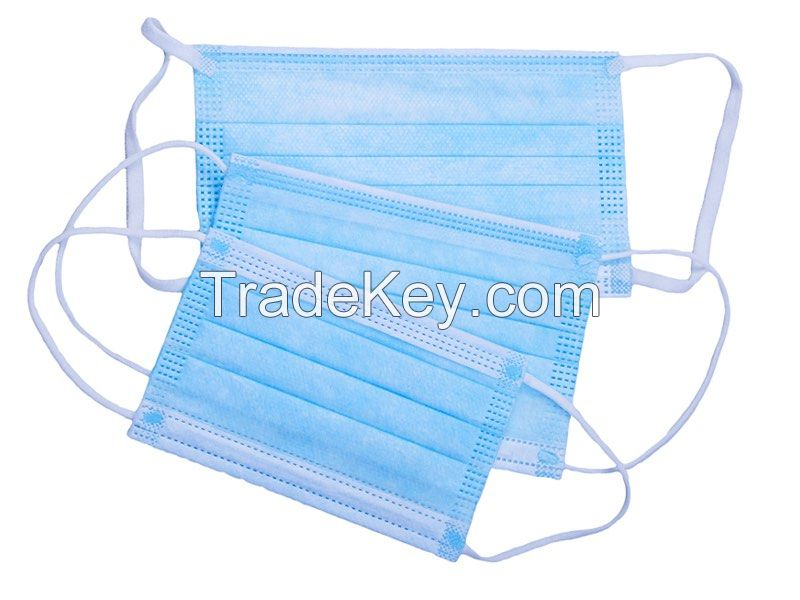 Safety 3 ply surgical mask Face Mask Protect Mouth