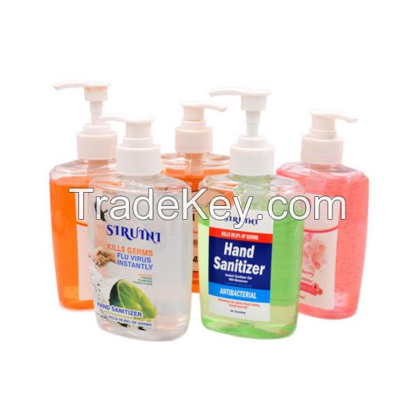 Bulk Quantity Essence 500ml 200ml 50ml hand sanitizer clear ice antibacterial gel sterilization kills 99.9% germs 500ml 200ml 50ml