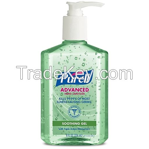 500ml 200ml 50ml hand sanitizer clear ice antibacterial gel sterilization 75% alcohol