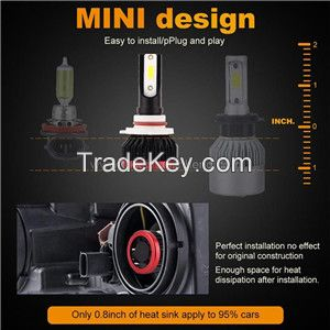 K1 mini car LED headlight retrofit light highlight spotlight DOB car LED headlight retrofit light price